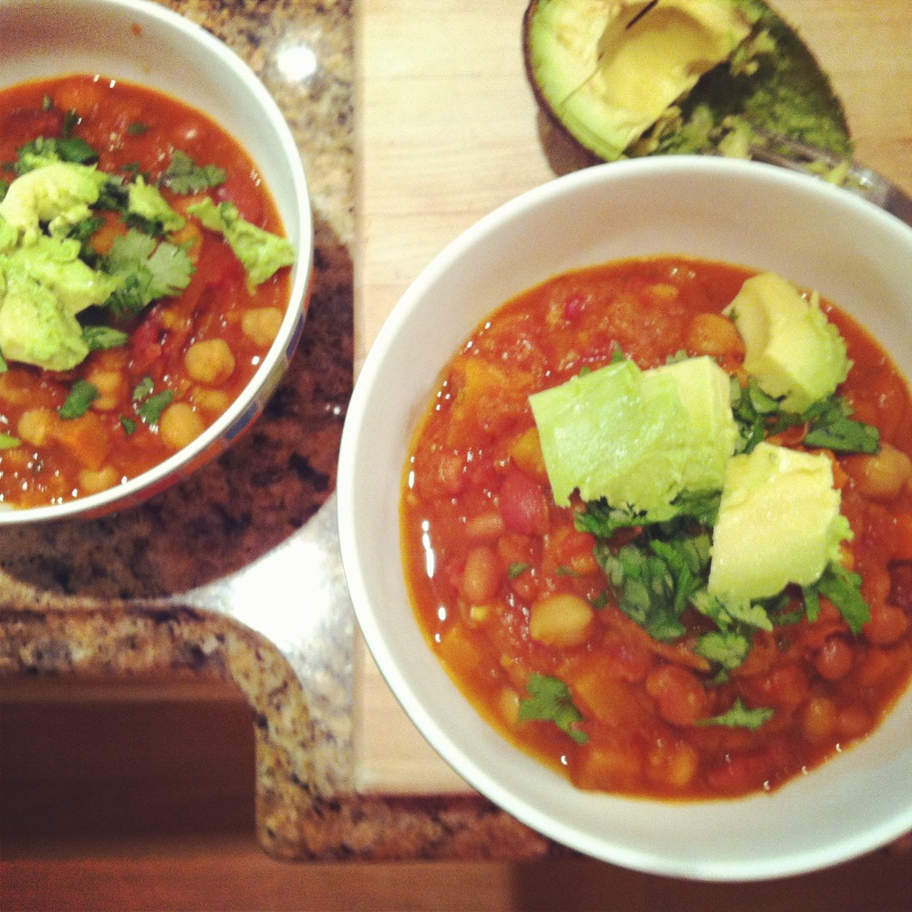 Love Life and Lollipops- Vegan Harissa Inspired Chili