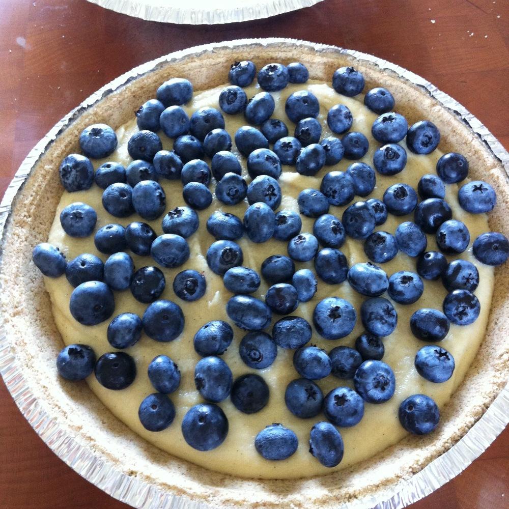 Love Life and Lollipops- Raw Vegan Lemon Blueberry Cheesecake