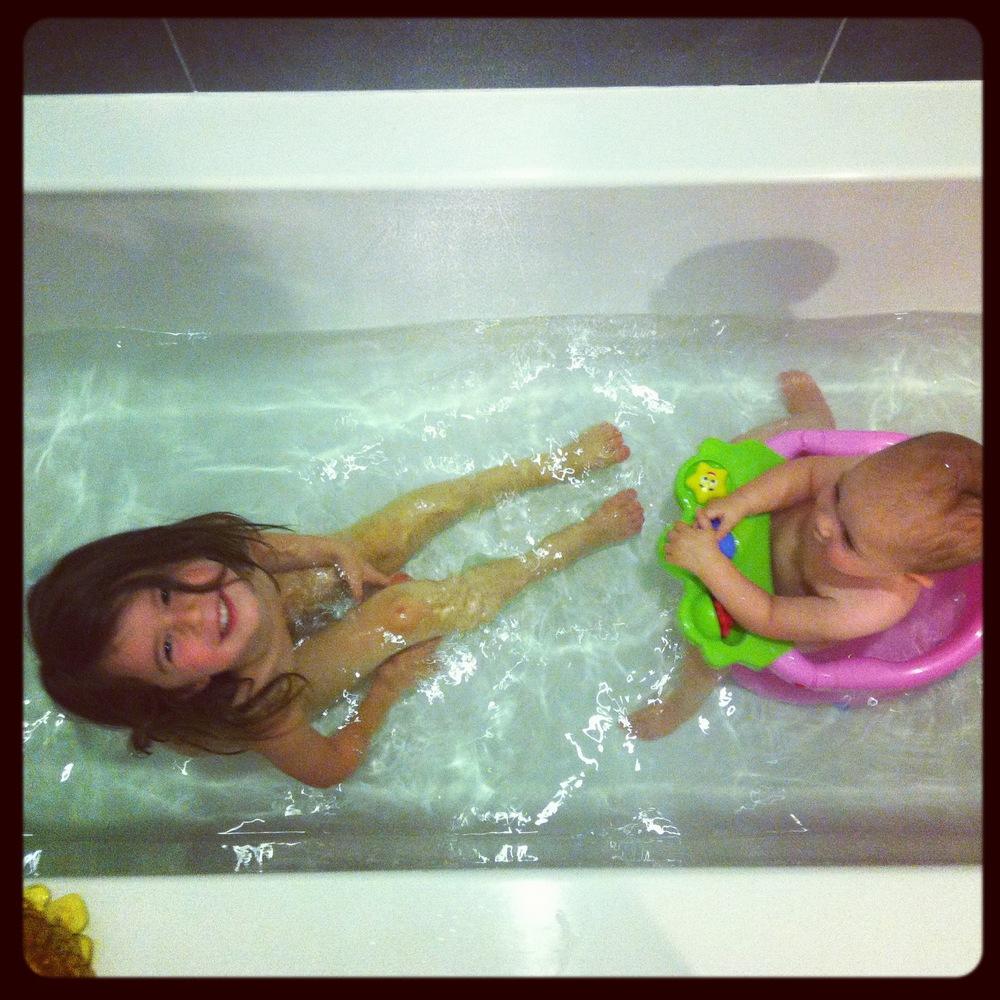 Love Life and Lollipops- Kessner Girls Bath Time