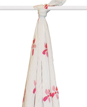 Love Life and Lollipops- muslin swaddles