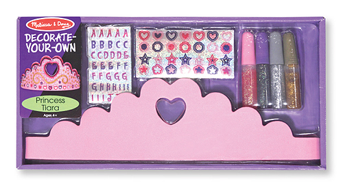 Love Life and Lollipops- princess tiara decorating set