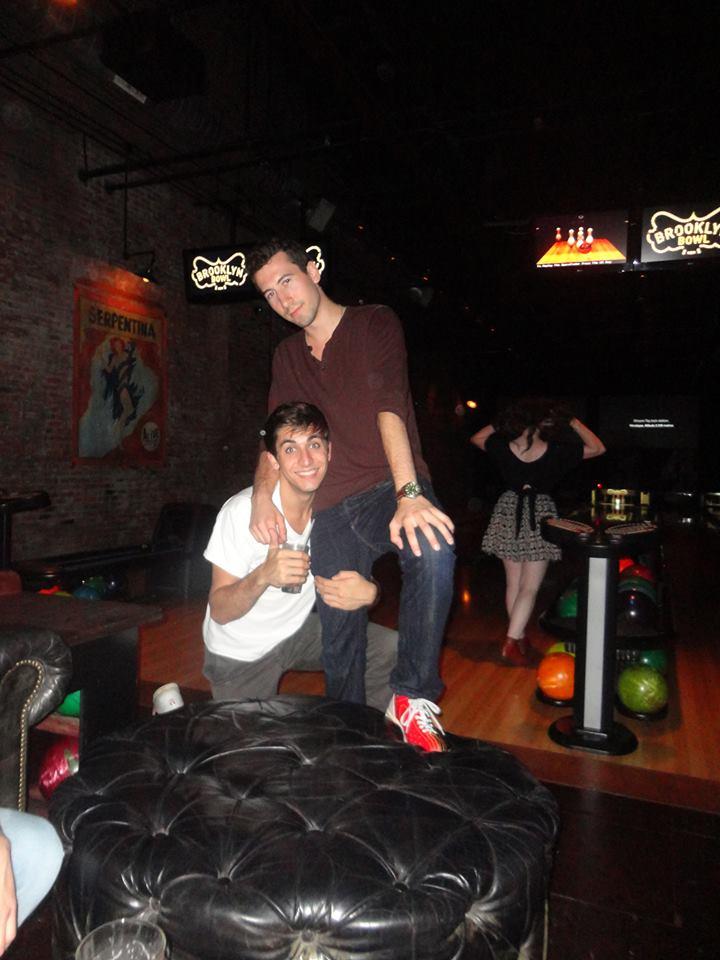 Robbie and Jonny