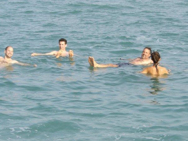 Us in the Dead Sea