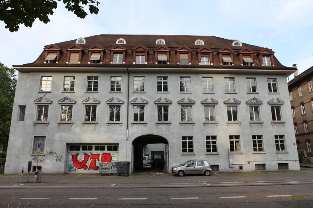 Wo einst Studenten der Zürcher Hochschule der Künste arbeiteten, wirken jetzt wir und viele andere Kreativköpfe. Bild: Google+/Romano Zerbini