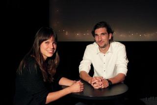 Aline Langenegger im Gespräch mit Dominik Meienberg
