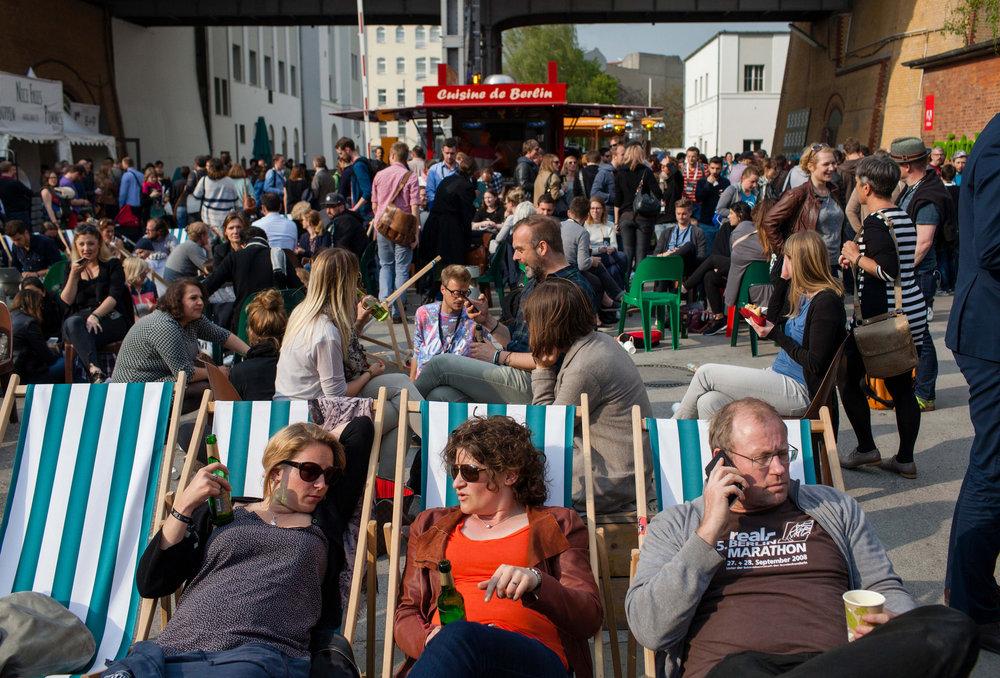 Teil der Re:publica sind nicht nur die Vorträge und Diskussionsrunden, sondern auch die Atmosphäre von Berlin. Foto: re:publica/Jan Zappner CC BY 2.0