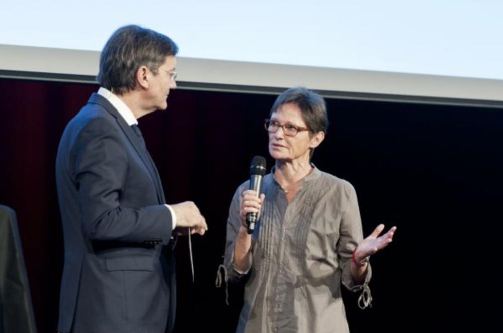 Rita Flubacher erhielt 2017 den Preis für das Gesamtwerk. (Bild: Selina Haberland)