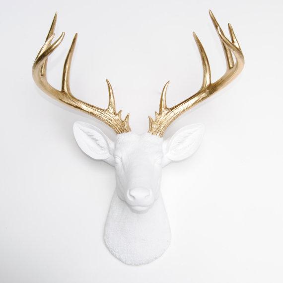 Deer head from  NearandDeer  - £75