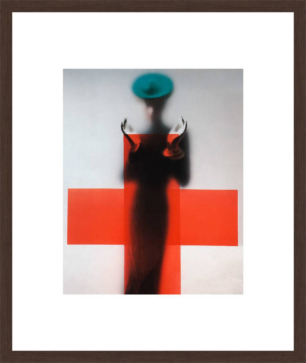 Cross by  Erwin Blumenfeld is part of the Vogue Collection available from Lumas - £239 including frame.