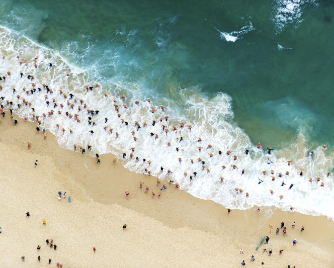 Bondi II by UK photographer Tommy Clarke, available from  Lumitrix  - prices start at £90