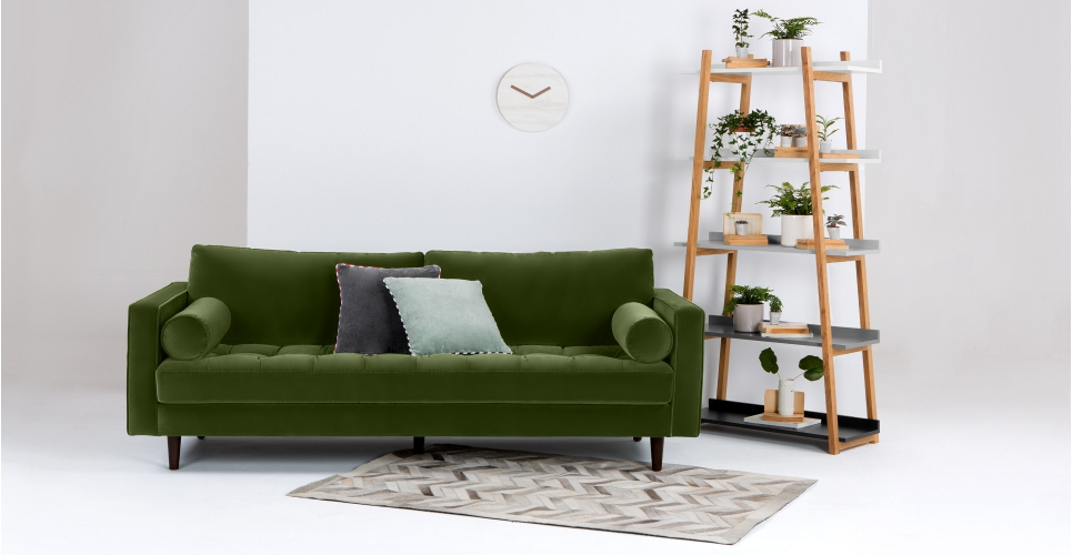 The new Scott sofa designed by Made.com in collaboration with Living Etc.