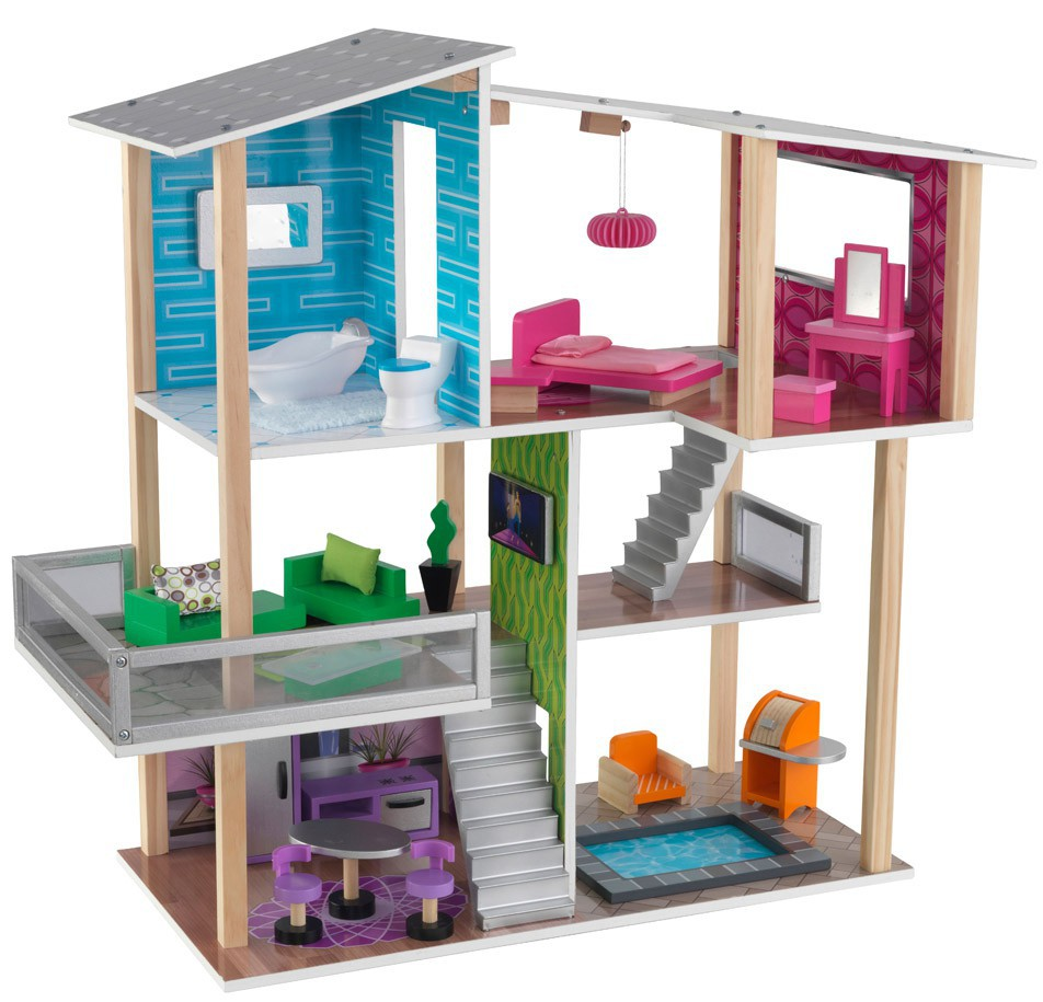 Modern Living Dollhouse by Kidscraft