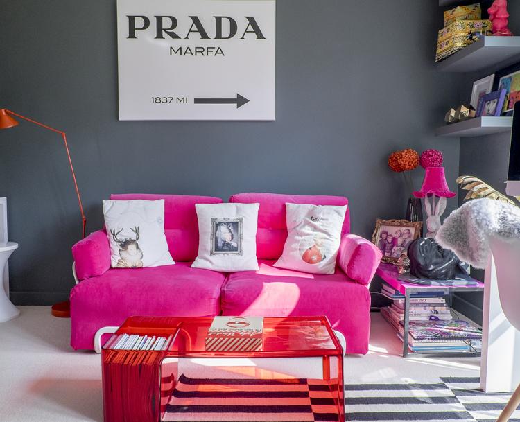 Stella Loves] Where to get THAT Prada Marfa wall art — Stella + ...