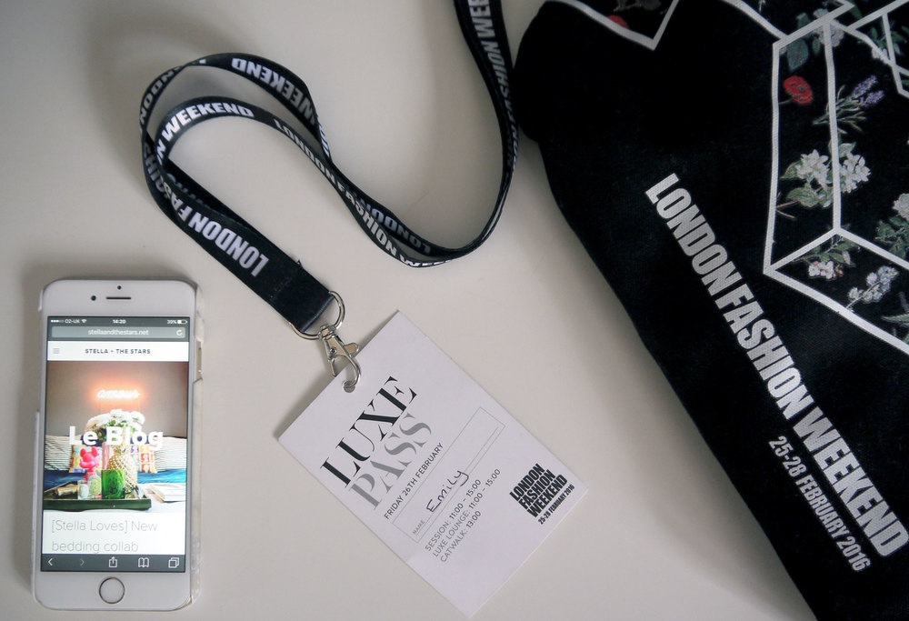 'I'm with the band...': our full access pass to LFWend - one day, my name will be spelt right...