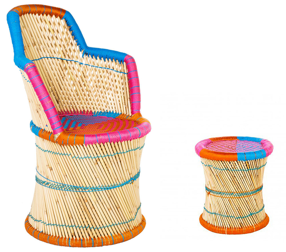 We have our eyes on Bland D'Ivoire Tam-Tam outdoor collection for Stella + the Stars HQ garden...