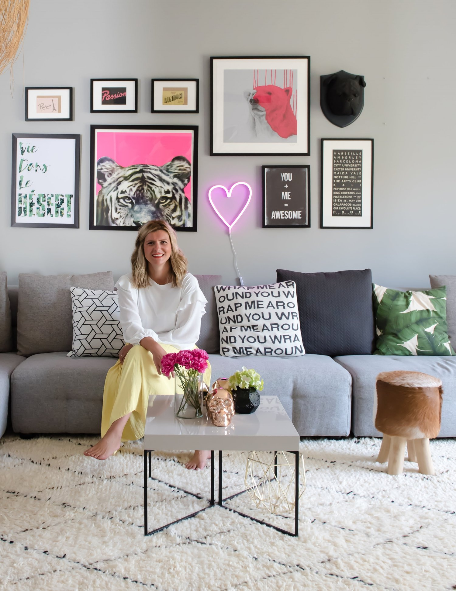 How To Create The Perfectly Imperfect Gallery Wall Stella The Stars