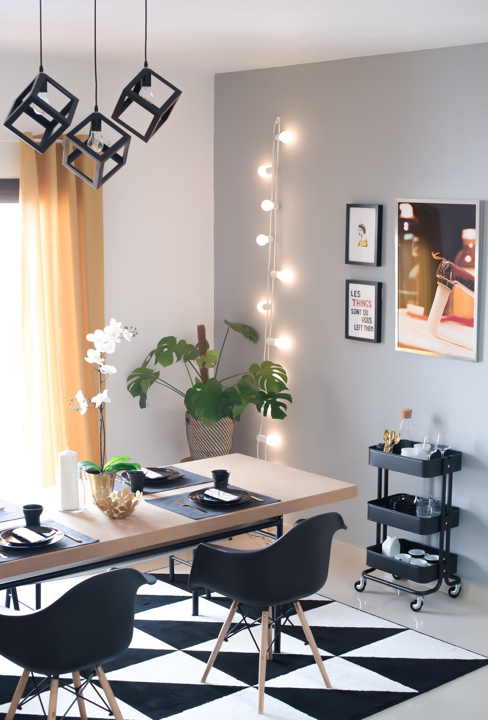 How I refreshed my dining room with IKEA on a AED500 budget
