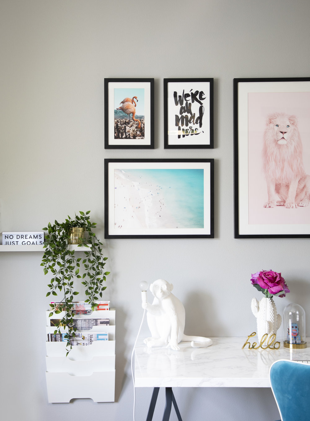 Curating the coolest gallery wall with Drawdeck — Stella + the Stars