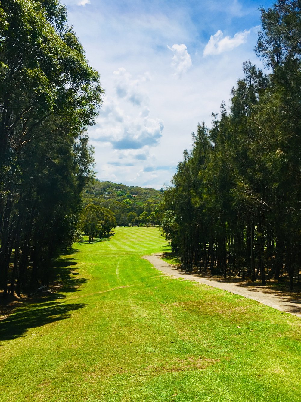 Hole Two - PAR 4 - 334 metresThe signature hole at Avalon Golf Course presents itself with a wonderful tee shot through a narrow shoot of trees. It is best to favour the right side of the fairway as there is a severe slope from right to left. Once this challenge is navigated you are left with a short or mid iron to a flat green