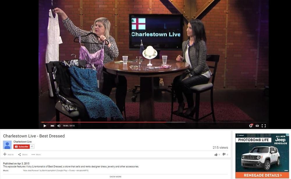 Charlestown Live Interview