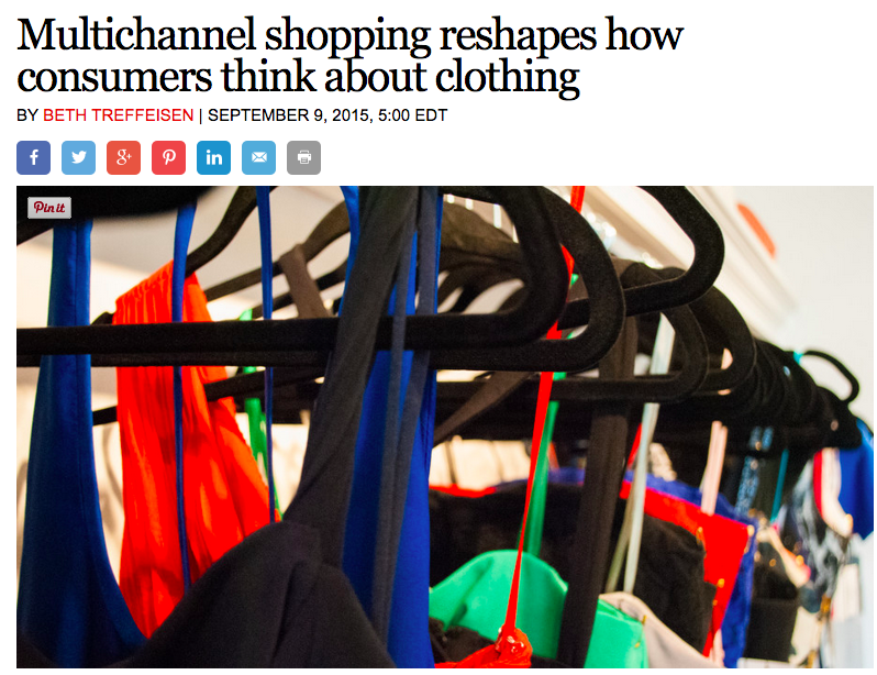 New Boston Post Article - Reshaping the way people think about clothing in Boston