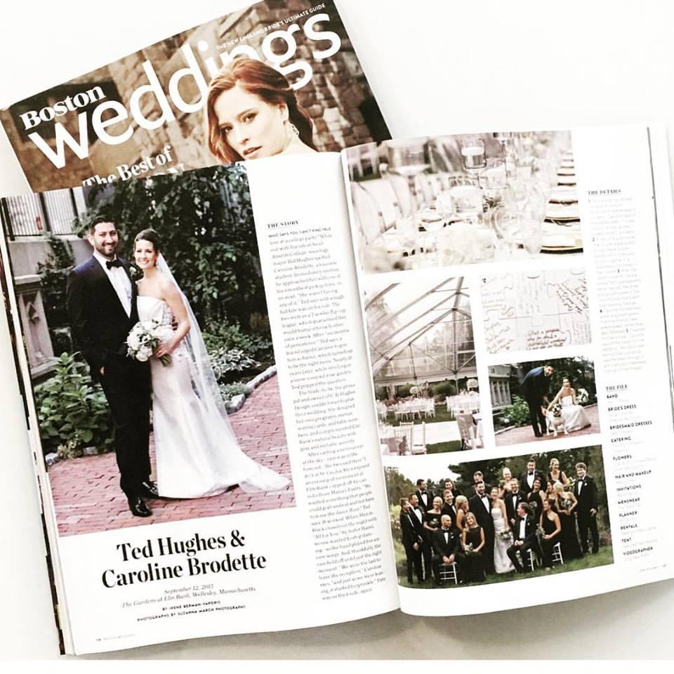 Boston Mag Weddings June 2016