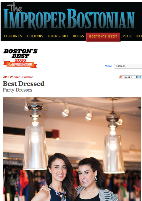 Improper Bostonian's Best of Boston Party Dresses 2016