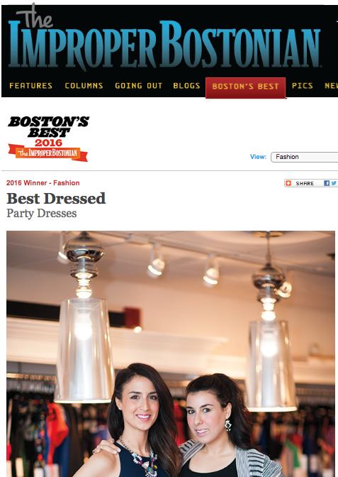 Improper Bostonian's Best of Boston Party Dresses 2016
