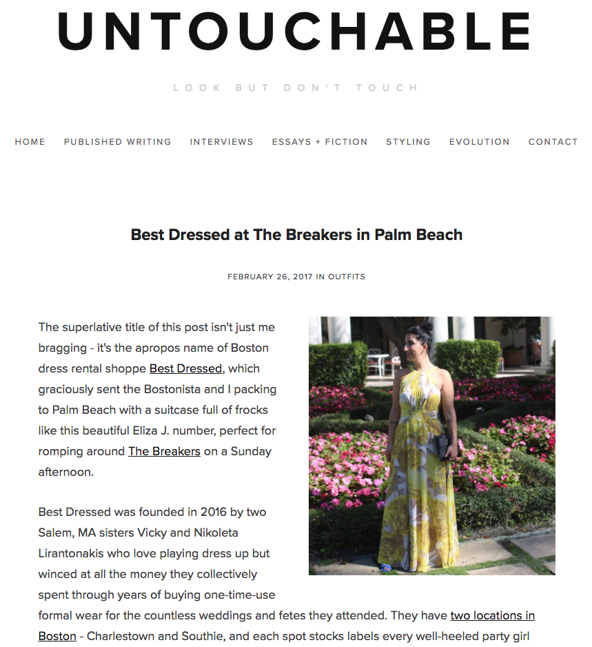 Untouchable Blog - Best Dressed at The Breakers in Palm Beach