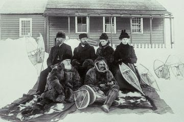 Snowshoeing, from the  Almanac .