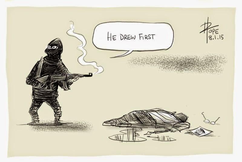 Cartoon byDavid Pope.