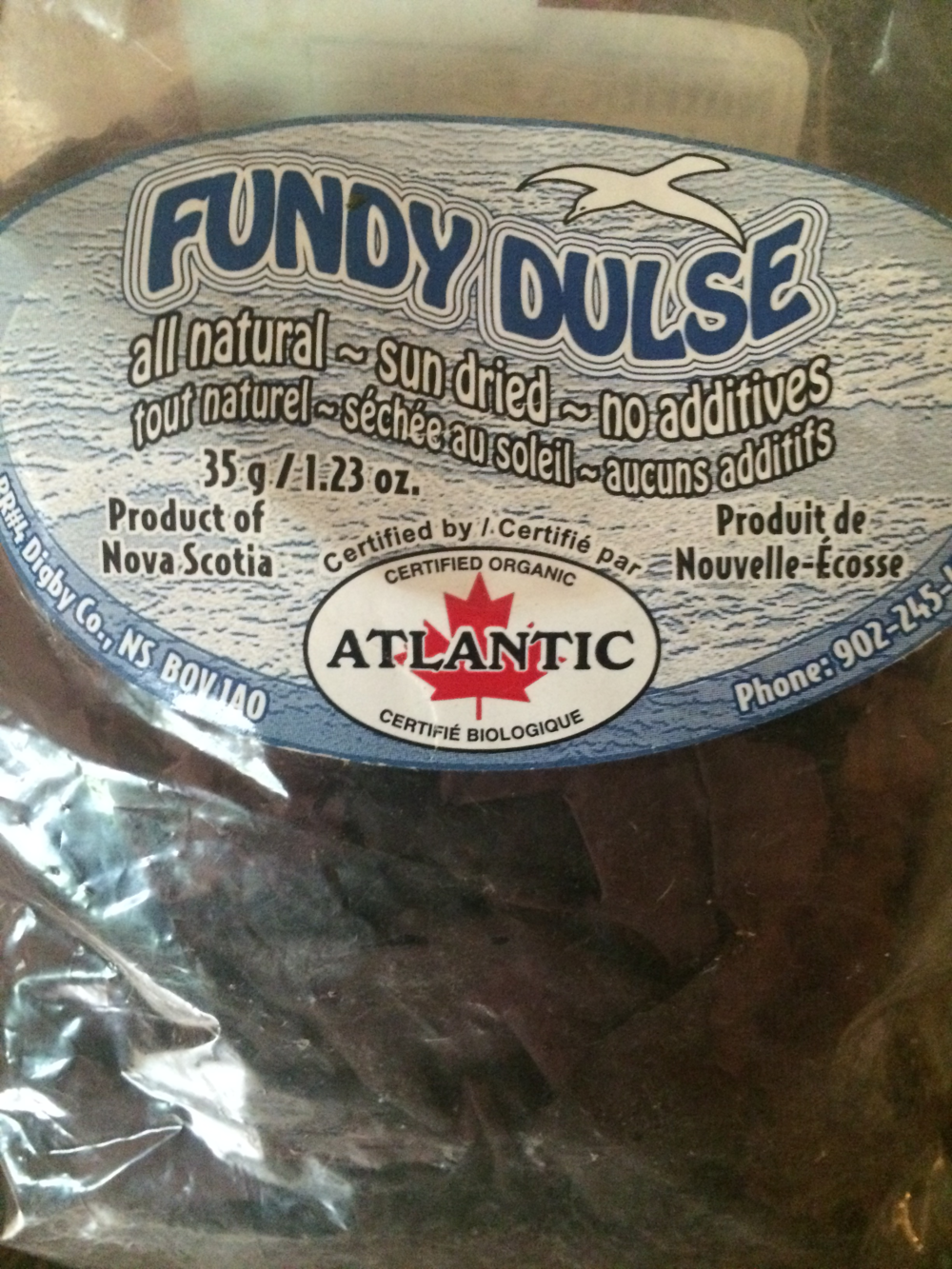 Dulse seaweed: bacon-flavored deliciousness, or grimy sea food?
