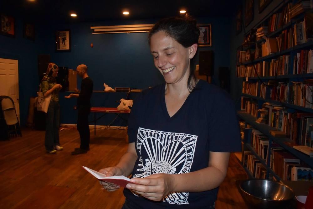 Visiting Writer-in-Residence Megan McShea.