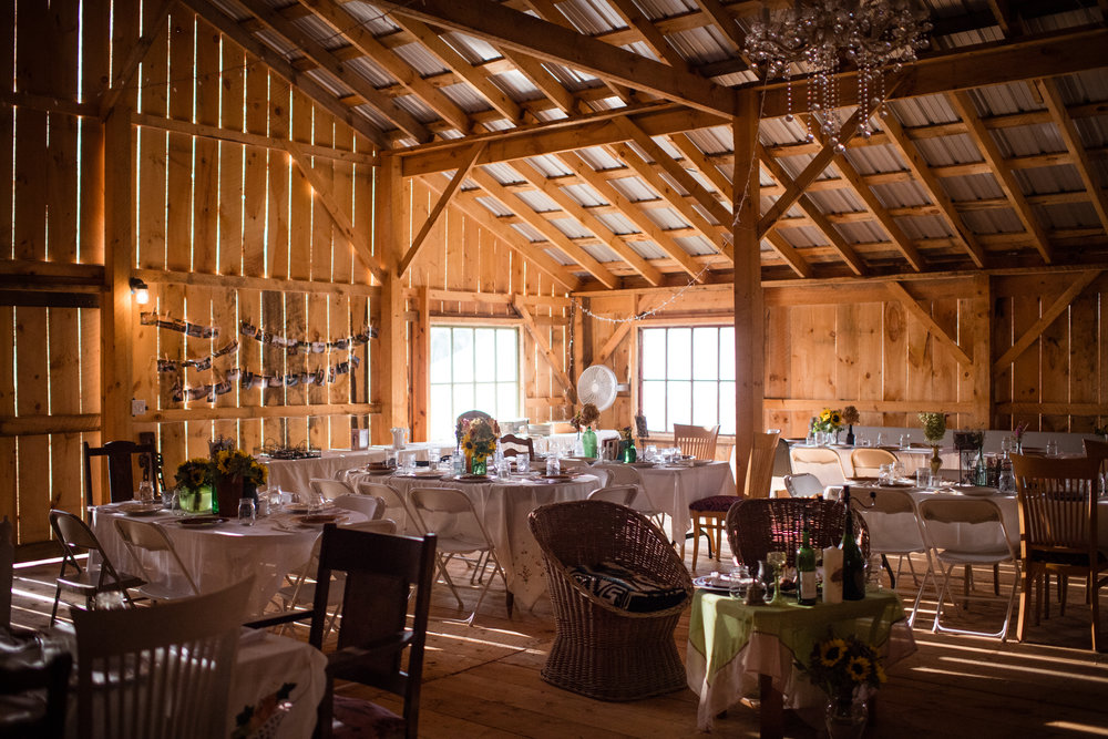 fundraisers, weddings, farm-to-table events