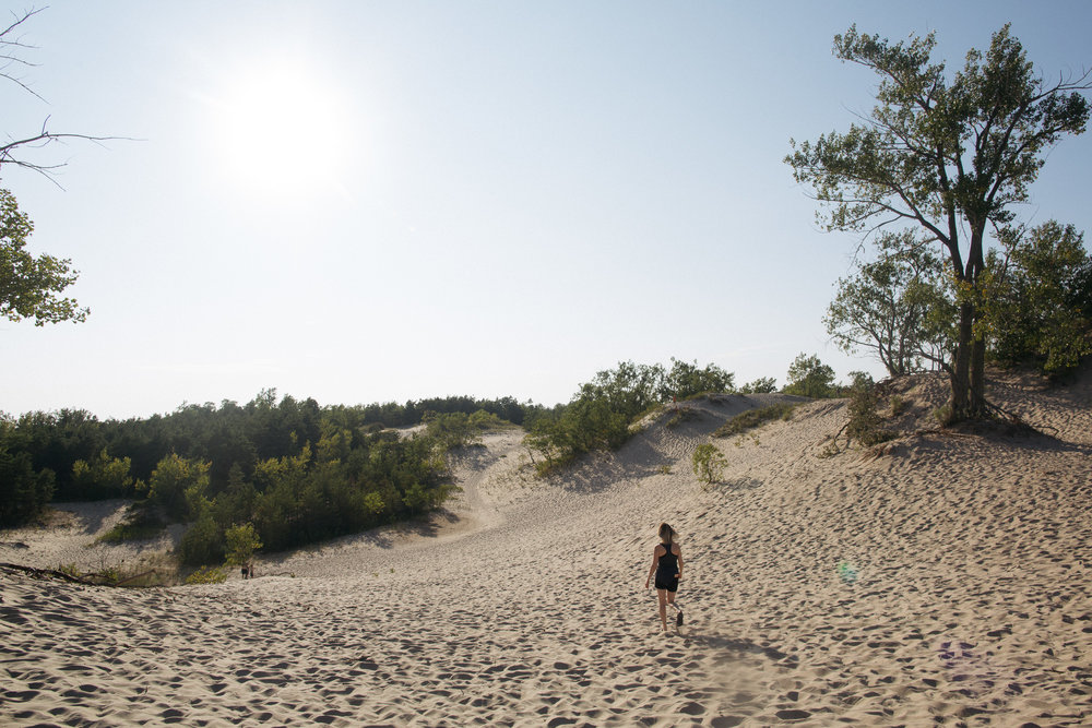 There's nothing as amazing as getting lost among the dunes.