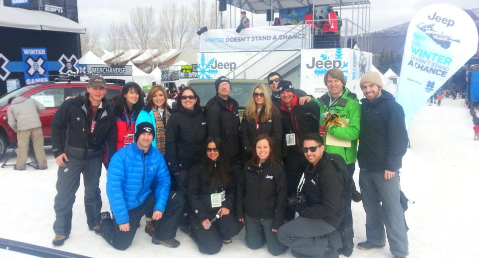 CSI and GCP wrapping up the Artic Yeti Dig broadcast from  X-Games, Aspen 2013.