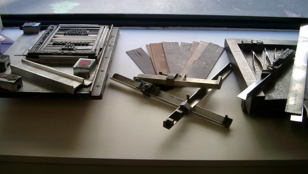 strumenti tipografici