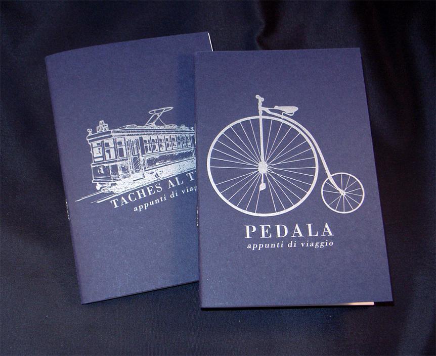 quaderni con copertina realizzata in letterpress