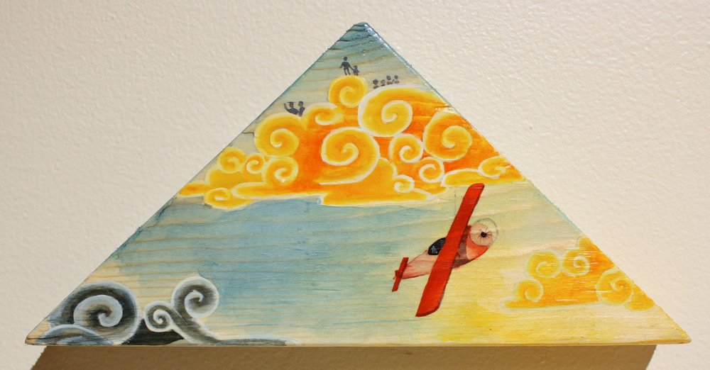 #17-In the Clouds: SOLD