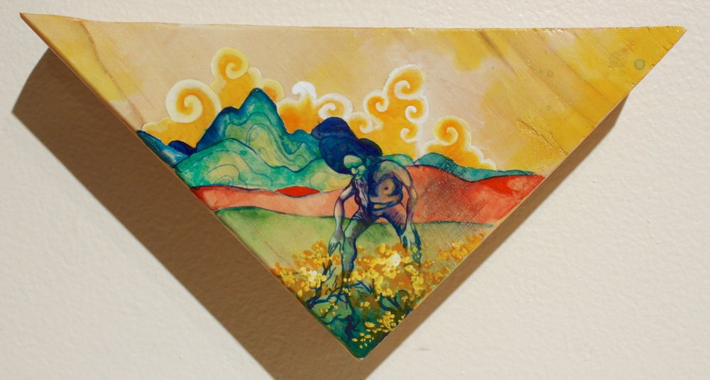 #8-There You Are: Donated to benefit the Zootown Art Community Center