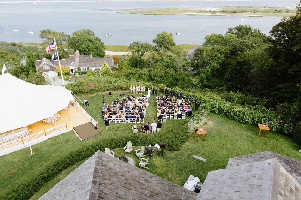 Chatham ocean View Wedding Matt + Annie