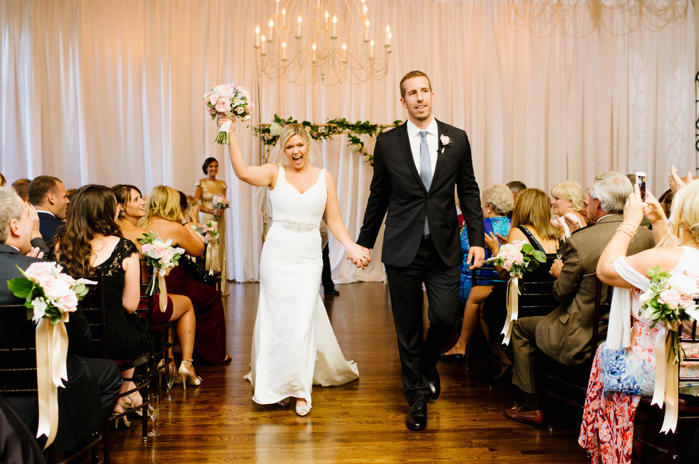 Kaylyn + Jarrid Celebrate Their wedding at ALden Castle, Brookline