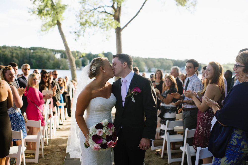 LeeAnn and Jarrod at their Lake Pearl, Wrentham Wedding