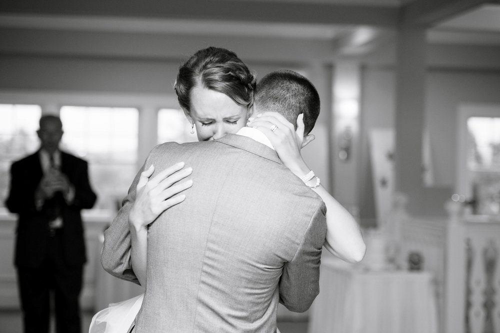 FROM CAROLYN AND MIKE'S WEDDING AT THE BROOKSIDE CLUB, CAPE COD