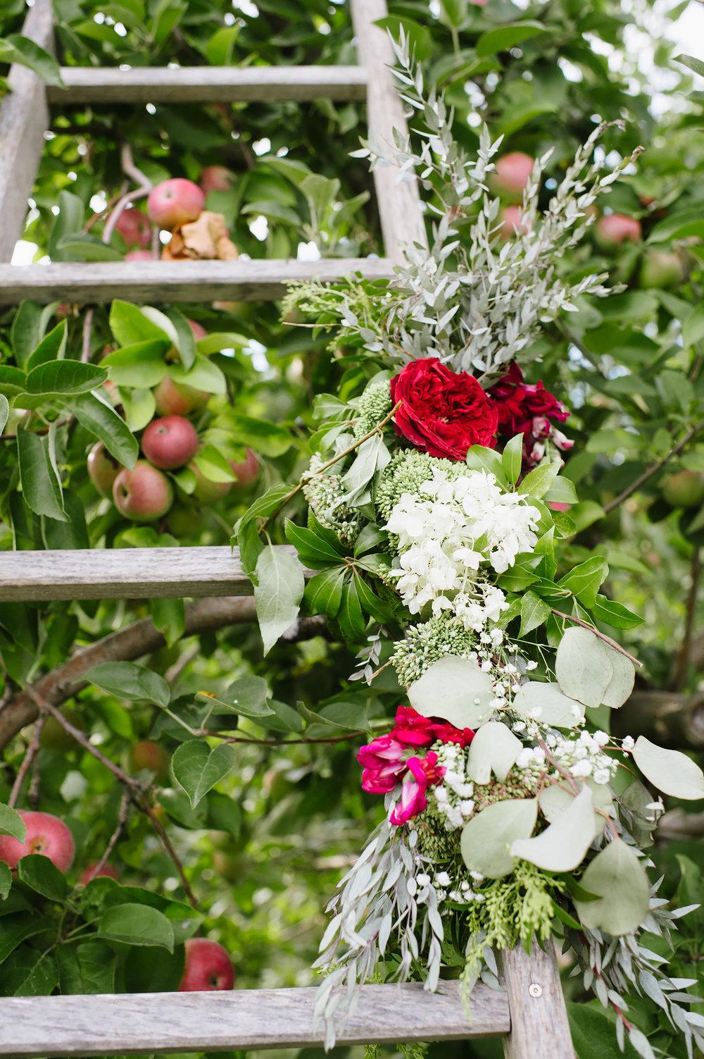 Details at Laura + Zach's wedding, Quonquont Farm