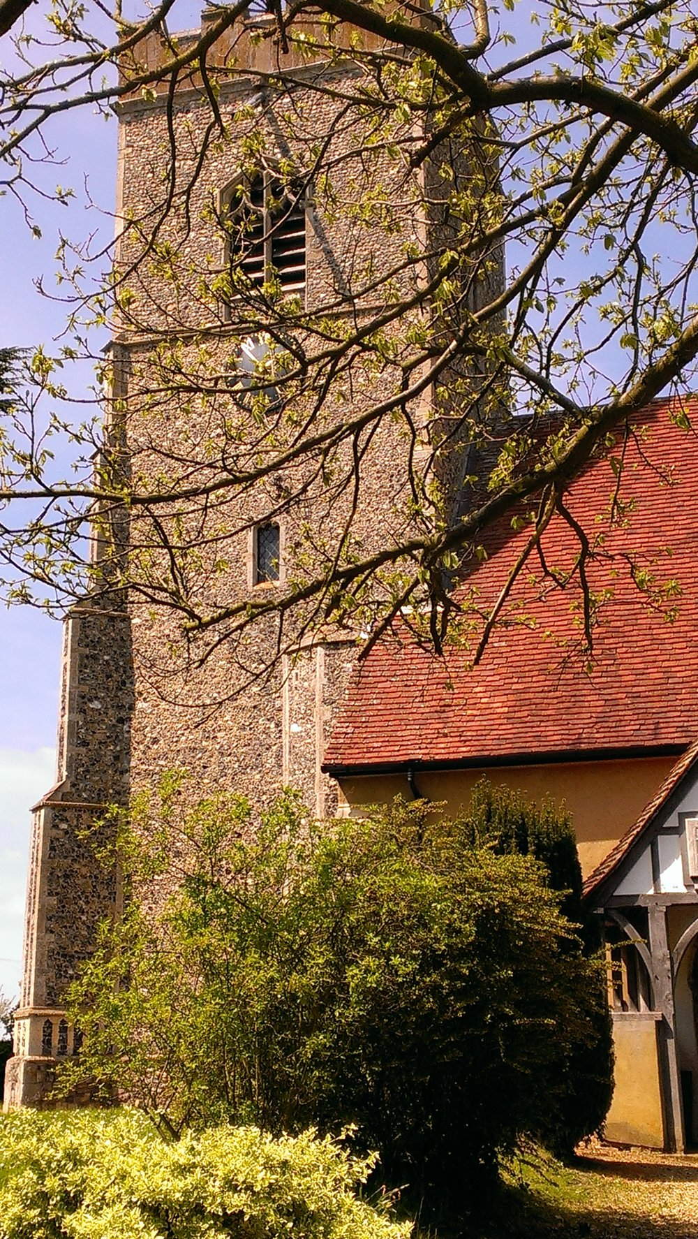 The church at Great Wenham, where Matthew Hopkins was born