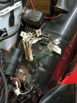 New wiring harness