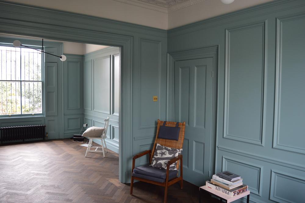 panelling hesketh design. Black Bedroom Furniture Sets. Home Design Ideas