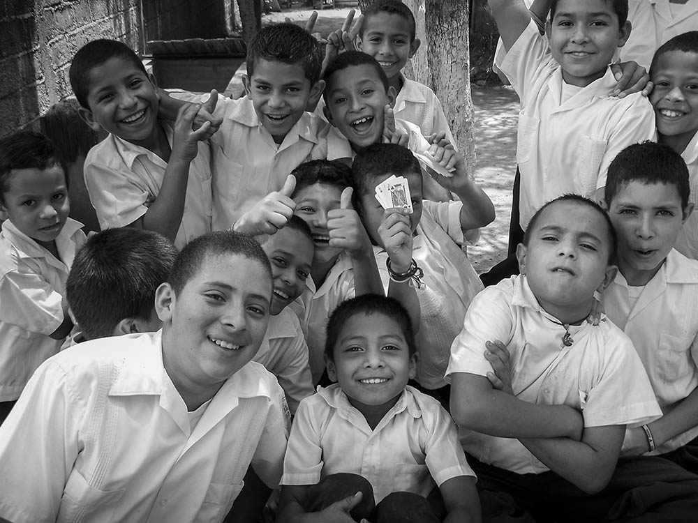 Honduran School Boys
