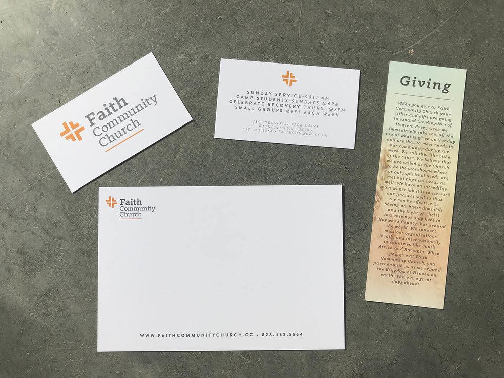 Various Print Pieces